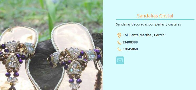 Sandalias Cristal