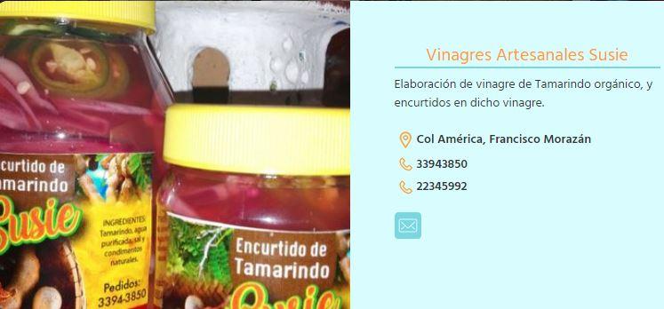 Vinagres Artesanales Susie