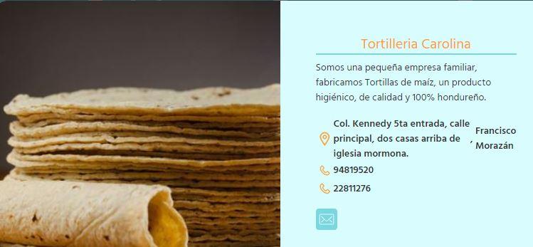 Tortilleria Carolina