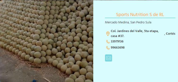Sports Nutricion S de R L
